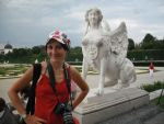 Tiziana is compared with the statues at the Belvedere